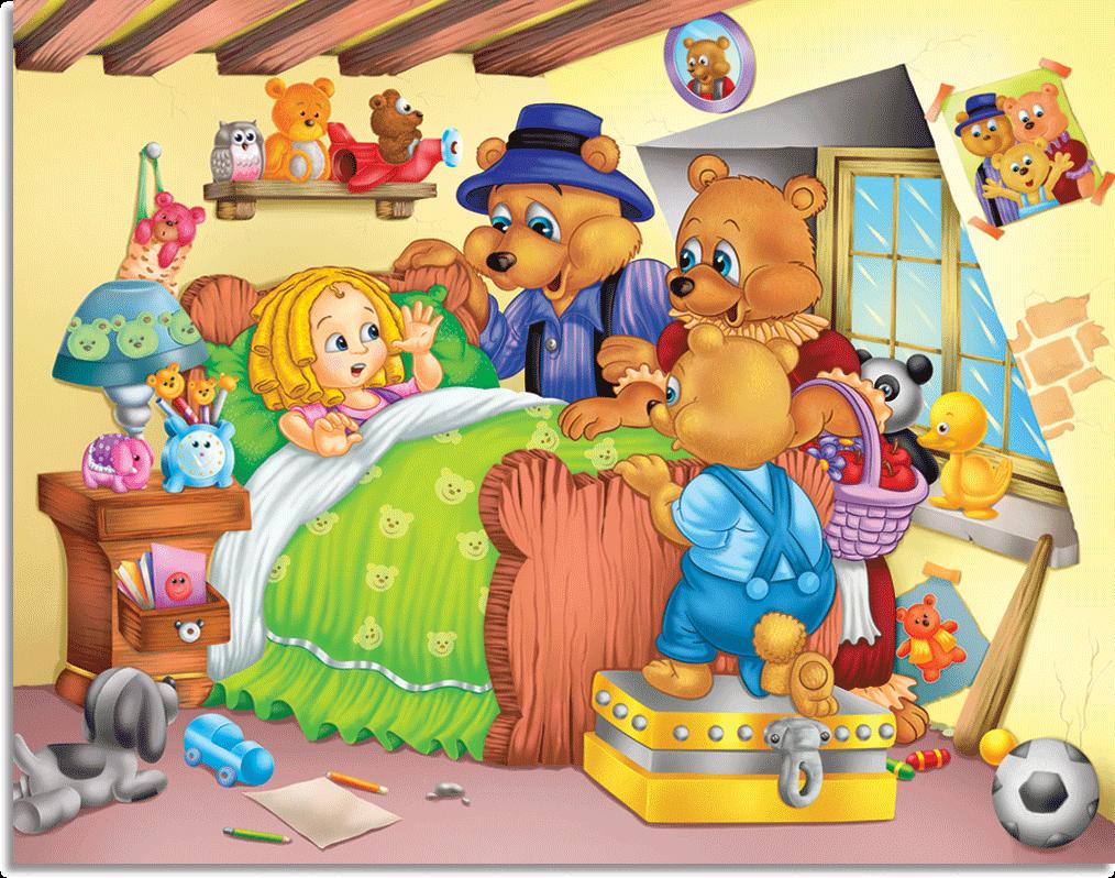 Blue S Room Goldilock And The Three Bears
