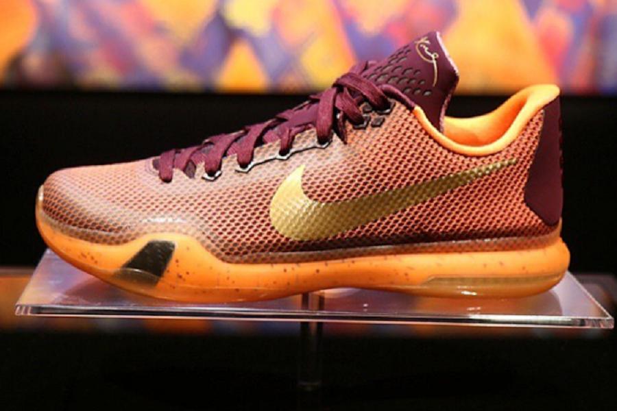 Official Nike Kobe 10 Silk Road