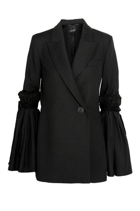 sleeve blazer